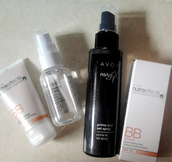 Спрей для макияжа Avon MagiX Prime