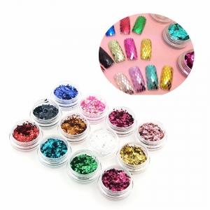 Блестки Ромбы для дизайна ногтей