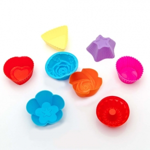 Формочки силиконовые для выпечки