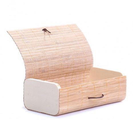Шкатулка из бамбука, для аксессуаров, фурнитуры, ювелирных изделий