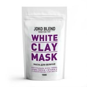 Маска для лица белая глина от фирмы Joko Blend
