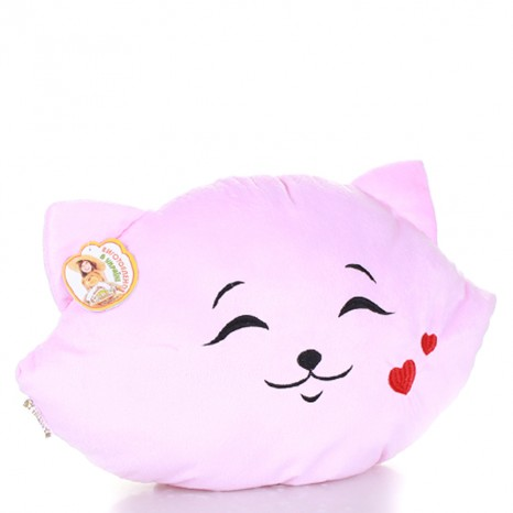 Декоративная мягкая подушка «Кошка