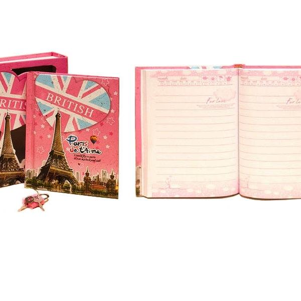 Подарочный блокнот-тайник  «Любовь»  на замочке с ключиком