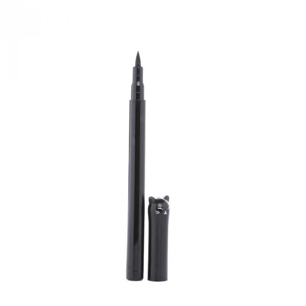 Подводка для глаз «Кошка», маркер, фломастер для стрелок, черная, стойкая