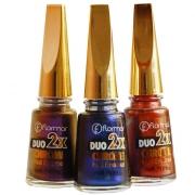 Лак для ногтей DUO 2x CHROME от фирмы FLORMAR