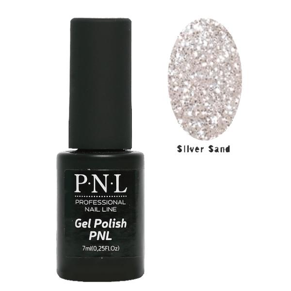 Гель -лак для ногтей Silver Sand от фирмы P.N.L