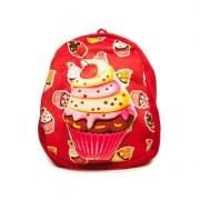 Удобный, вместительный, яркий  3D детский рюкзак с Пирожным