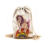 Сумка рюкзак для сменной обуви детский