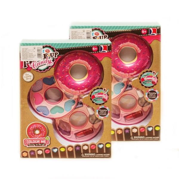 Подарочный набор детской косметики «Пончик», купить косметический набор