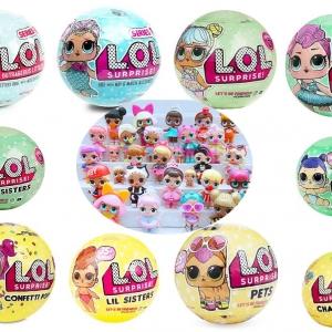 Кукла Лол сюрприз, L.O.L в шаре, все серии, копии, оригинал