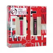Косметический подарочный набор 2 в 1 туш + матовая помада, Colour INTENSE
