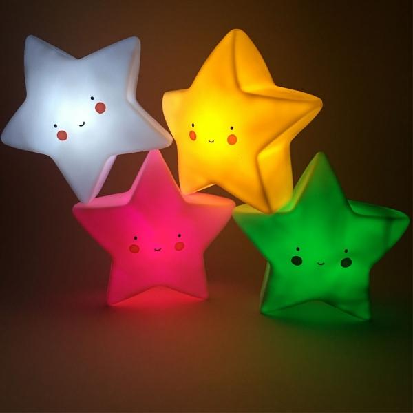 Cветильник ночник детский звезда