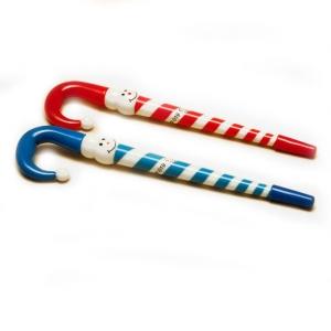 Оригинальная шариковая ручка с новогодним дизайном Снеговик