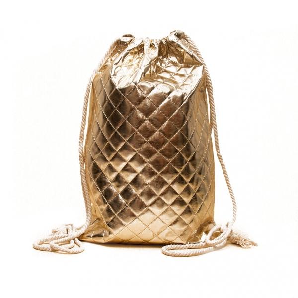 Сумка-рюкзак для сменной формы, Золото